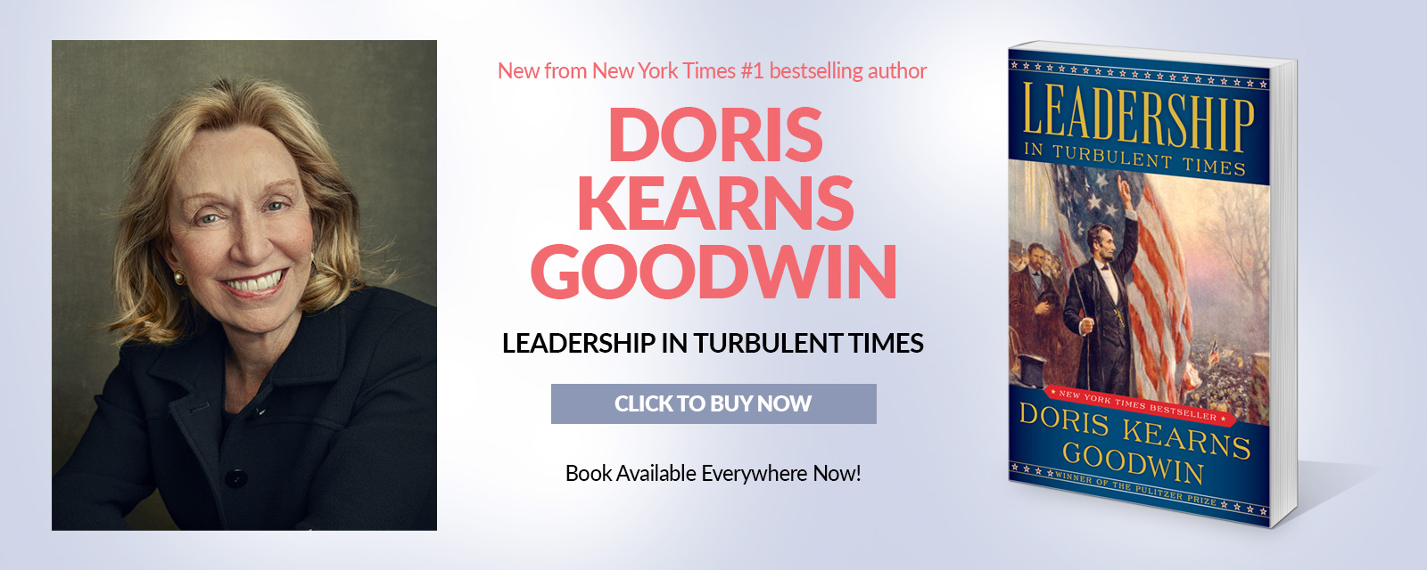 Leadership in Turbulent Times – Click to Buy Now!